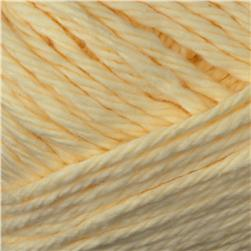 Peaches & Creme Solid Yarn (1003) Cream