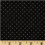 Moda Essential Dots (# 8654-28) Black