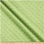 AW-094 Minky Cuddle Dimple Dot Dark Lime