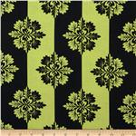 0273145 Day for Night Stripes Black/Green