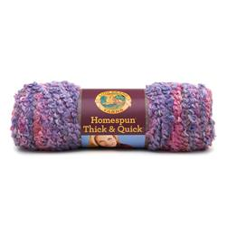 Lion Brand Homespun Thick & Quick Yarn (411) Mixed Berries