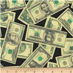 Pleasures &amp; Pastimes Money Black/Green