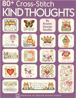 "Leisure Arts ""80+ Cross-Stitch Kind Thoughts"" Book"