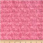 Minky Cuddle Rose Hot Pink