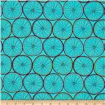 0295832 Ride Bicycle Tires Turquoise