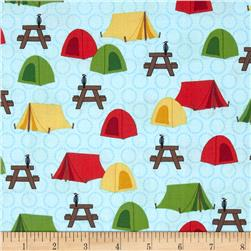 Roughing It Retro Tents Blue