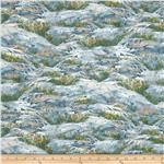 A Change of Scenery Flannel Scenic Blue