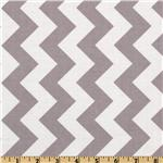 FO-210 Riley Blake Chevron Medium Grey