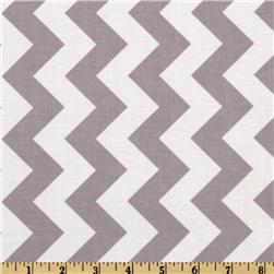 Riley Blake Chevron Medium Grey