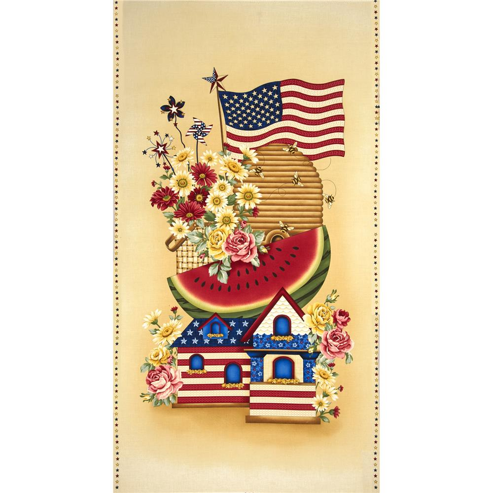 Sweet Land Of Liberty Panel Americana Multi