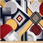 Africa Mwamba Abstract Gold/Black