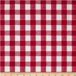 In the Mix Gingham Red/White