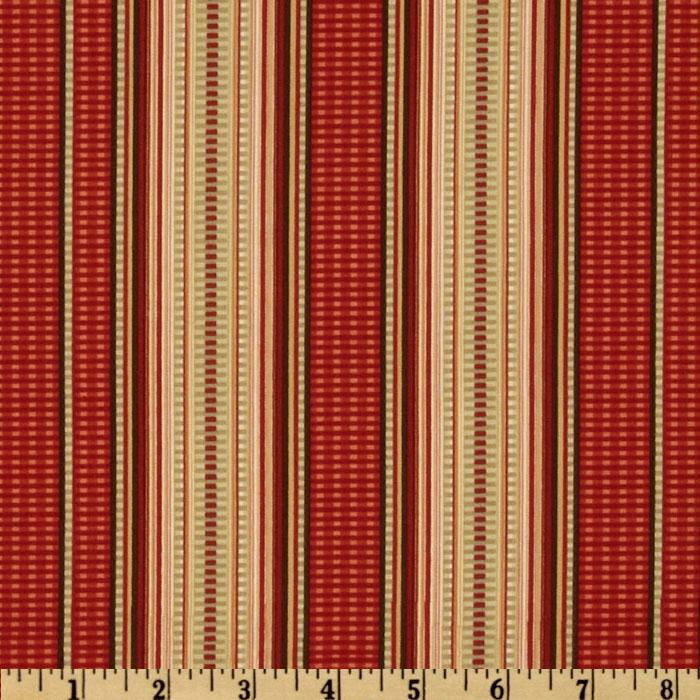 In The Manor Stripes Sage/Mahogany