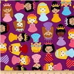 Girl Friends Little Girls Allover Jewel Purple
