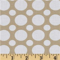Spot On Large Dot Khaki