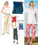 Kwik Sew Maternity Pants, Shorts &amp; Jeans Panel Pattern