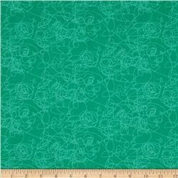 Marmalade Cottage Doodles Teal