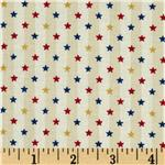 0273373 America Stars Stripes Ivory