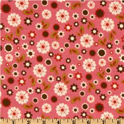 Indian Summer Floral Toss Pink