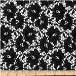 0290333 Rosea Lace Black
