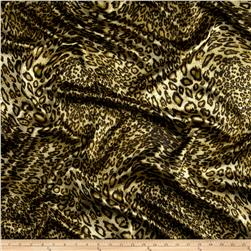 Satin Charmeuse Jaguar Gold