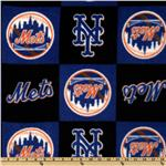 FL-470 MLB Fleece New York Mets Blocks Royal/Orange/Black