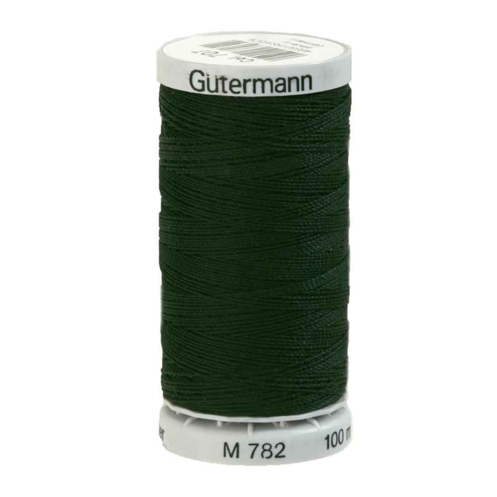 Gutermann Thread Extra Strong 110YD - Forest Green