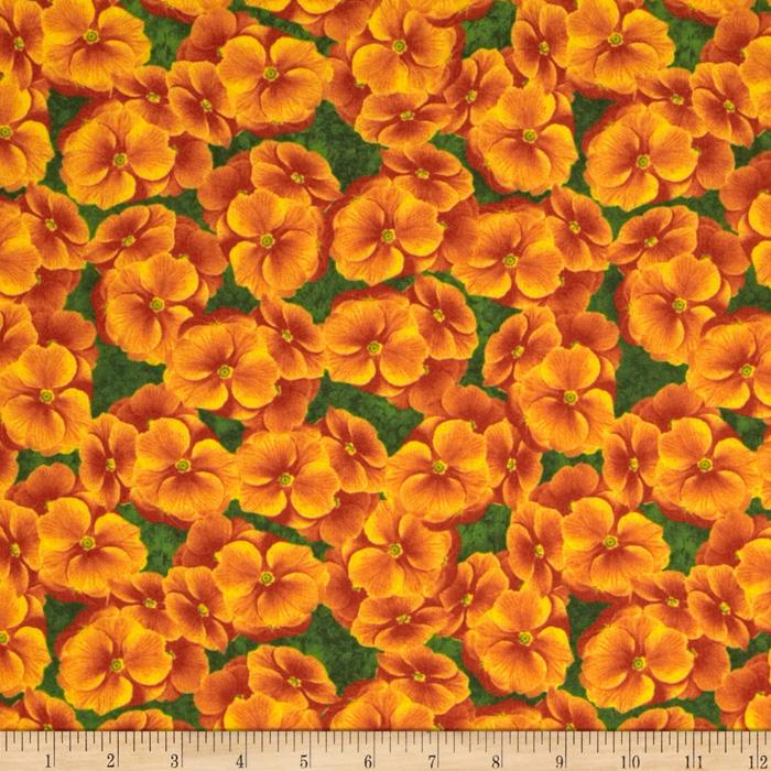 Primrose Path Primrose Allover Orange