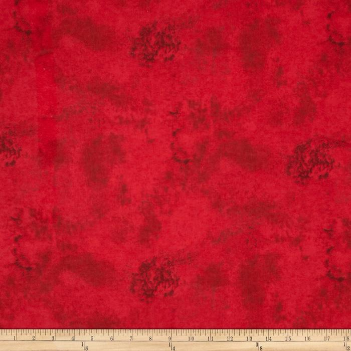 Marble Swirl Flannel Red