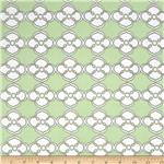 Polka Perch Floral Geo Green