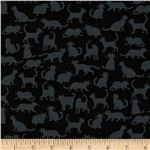 0292466 Kanvas White Wash/Fade Black Cats Black