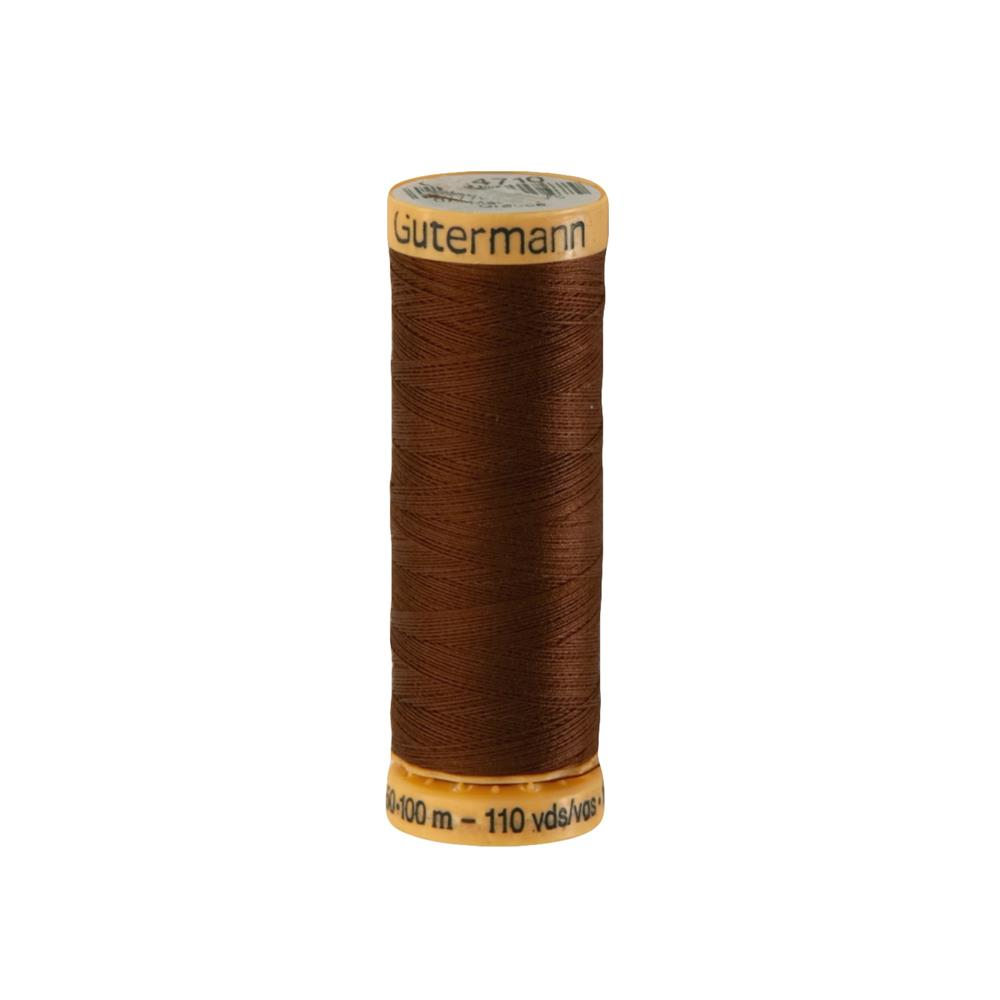 Gutermann Natural Cotton Thread 100m/109yds London Tan