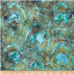 0288508 Bali Batiks Feathers Big Sur