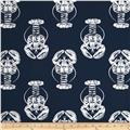 Premier Prints Lobster Slub Primary Navy