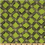 Perfect Pansy Crosstring Plaid Green