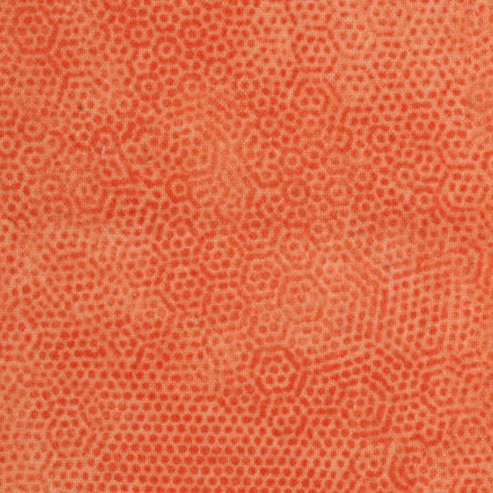 Dimples Flannel Tangerine