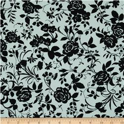 Pimatex Basics Floral Black/White