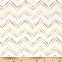 Riley Blake Ashbury Heights Chevron Grey