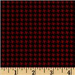 0265609 Kanvas Great Scotts Houndstooth Red