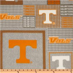 Collegiate Fleece University Of Tennessee Plaid Blocks