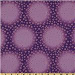 Photochrome Petals Dotted Circles Purple