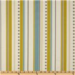 UM-224 Premier Prints Brook Stripe Summerland Citrine/Natural