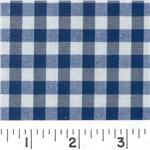 Woven 1/4 Gingham Navy
