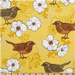 0265812 Birds And Blooms Birds And Blooms Yellow
