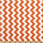 FT-469 Riley Blake Chevron Small  Orange