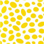 Celebrate Seuss! Oval Dots White/Yellow