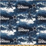 CK-189 NFL Cotton Broadcloth Dallas Cowboys Blue