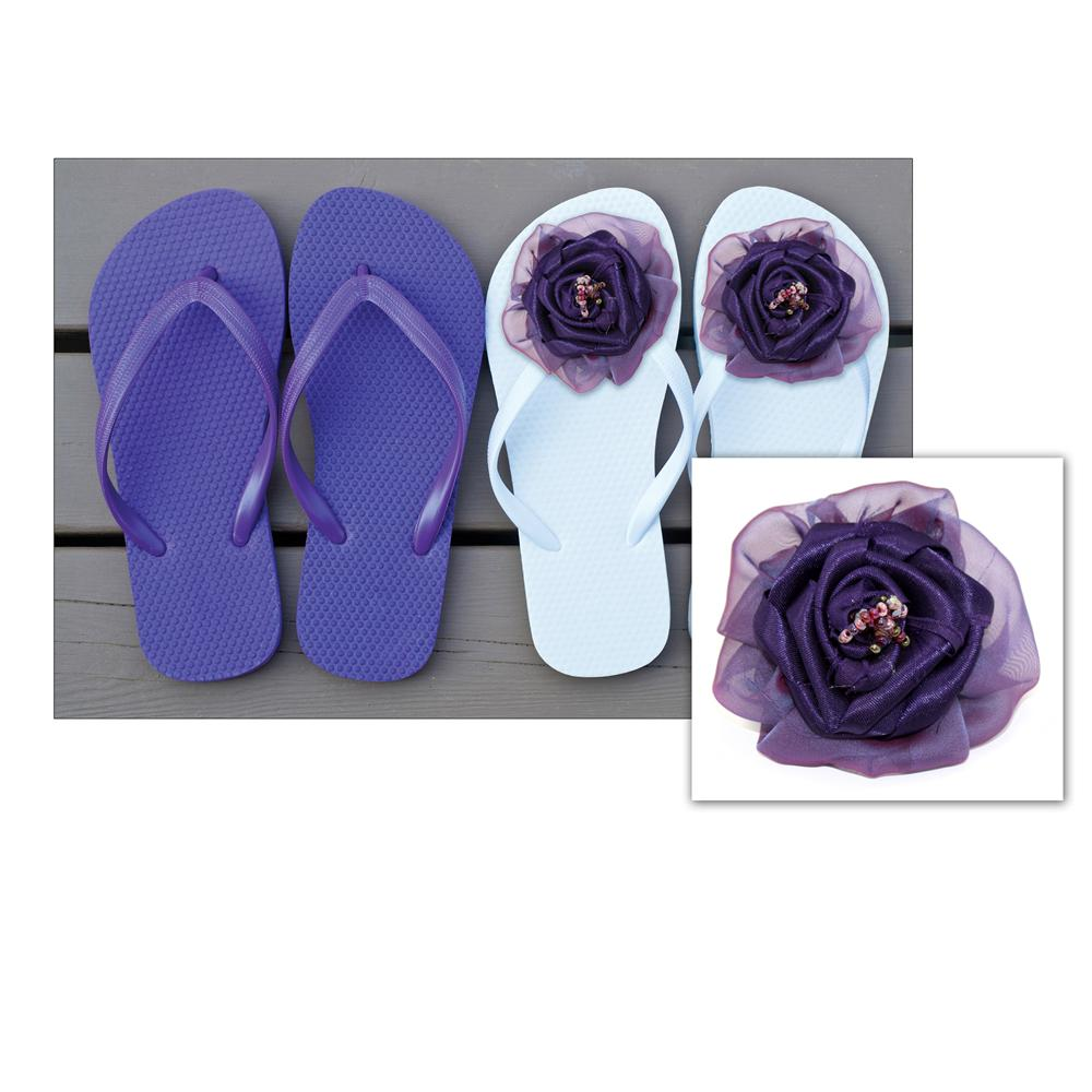 Laliberi Pin &amp; Clip Flower Mixed Up Purple