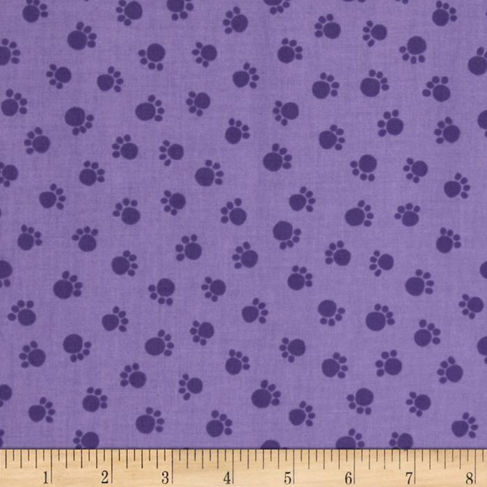 Moda Prisma Cats Prima Paws Purple