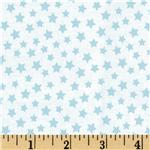 0268090 Brights & Pastels Basics Stars Light Blue